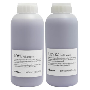 Davines Love Smoothing Shampoo and Conditioner