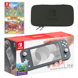 Nintendo Switch Lite (Grey) Pokémon Mystery Dungeon Rescue Team DX Pack