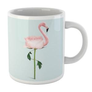 Flamingo Flower Mug
