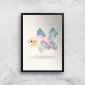 Holographic Goldfish Giclee Art Print