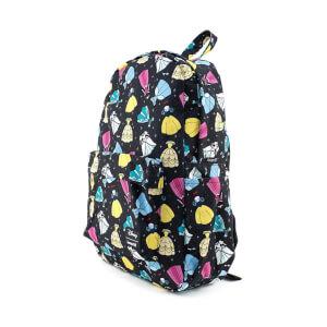 Loungefly Disney Princess Dresses Aop Nylon Backpack