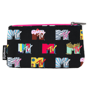 Loungefly MTV Black Pouch Aop