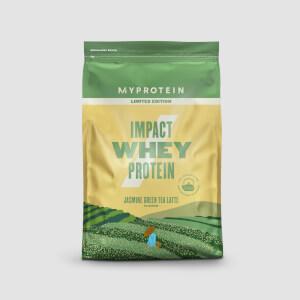 茉莉綠茶拿鐵口味 Impact 乳清蛋白粉 - 1KG