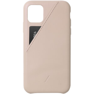 Native Union Clic Card iPhone 11 Case - Nude
