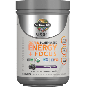 Sport Organic Plant-Based Energy Blackberry 432g Powder