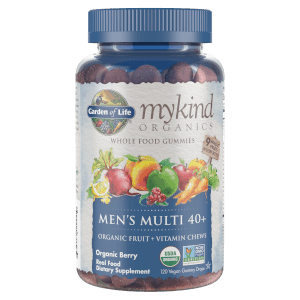 mykind Organics Men's 40+ Multi - Berry - 120 Gummies