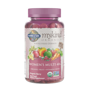 mykind Organics Women's 40 Multi - Berry - 120 Gummies