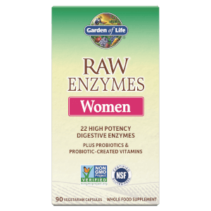 Raw Enzymes Women - 90 Capsules