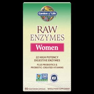 Комплекс ферментов с витаминами для женщин Raw Enzymes — 90 капсул