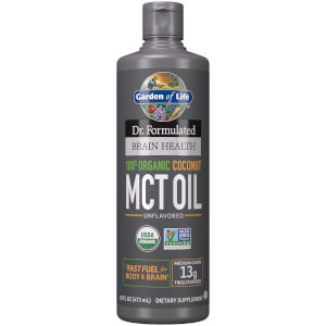Brain Health Organic Coconut MCT Oil - 473ml