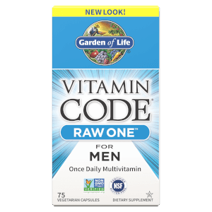 Vitamin Code Raw One For Men 75ct Capsules
