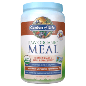 Raw Organic Meal Vanilla Spiced Chai 907g Powder