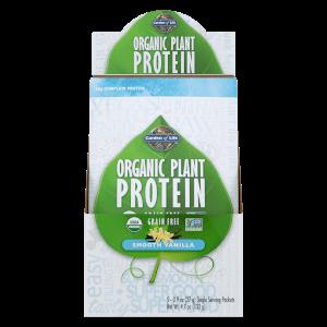 Bio-Pflanzenproteinpulver - Vanille - 5 Päckchen