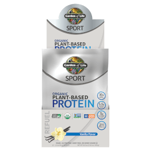 Sport Organic Plant-Based Protein Vanilla 12ct Tray