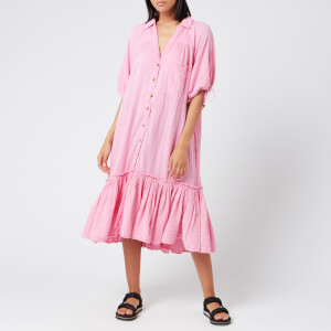 Free People Women's Maya Shirt Dress - Pink