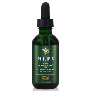 Philip B Exclusive CBD Scalp and Body Oil 60ml