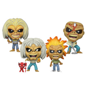 Iron Maiden - Eddie Funko Pop! Bundle