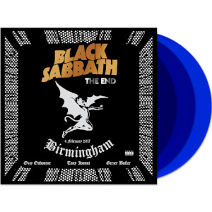 Black Sabbath – The End - Birmingham: 4 February 2017 3x Blue LP