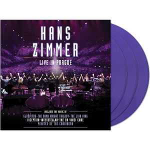 Hans Zimmer – Live In Prague 4x Purple LP