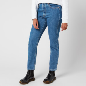Levi's Women's 501 Crop Jeans - Sansome Breeze Stone