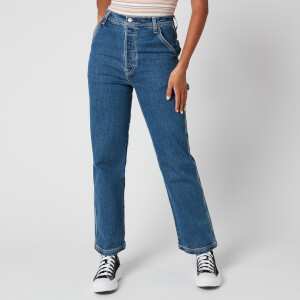 Levi's Women's Ribcage Straight Ankle Utility Jeans - Nine to Five