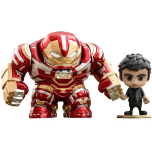 Hot Toys Avengers: Infinity War Cosbaby Hulkbuster Mark 2.0 and Bruce Banner - Size S (Set of 2)