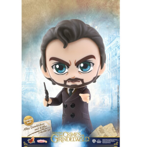 Hot Toys Fantastic Beasts: The Crimes of Grindelwald Cosbaby Albus Dumbledore and Niffler - Size S (Set of 2)
