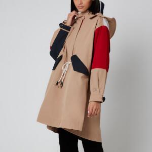 Tommy Hilfiger Women's Icon Olivia Cotton Parka - Classic Khaki