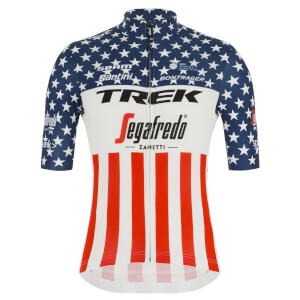 Santini Women's Trek-Segafredo US National Champion Blend Jersey