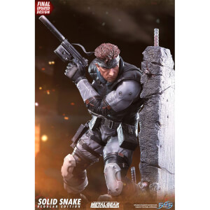 First 4 Figures Metal Gear Solid Resin Statue - Solid Snake