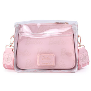 Loungefly Barbie Rose Gold Lock Crossbody