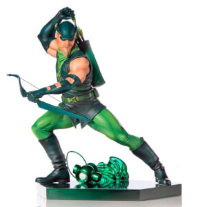 Iron Studios DC Comics BDS Art Scale Statue 1/10 Green Arrow by Ivan Reis 17 cm