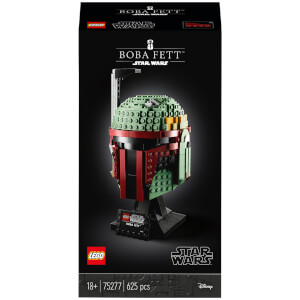 LEGO Star Wars: Boba Fett Helmet Collectors Set (75277)