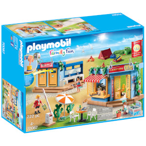 Playmobil Family Fun Large Campground (70087)