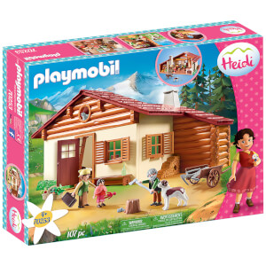 Playmobil Heidi At the Alpine Hut (70253)