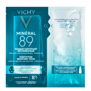 Vichy Mineral 89 Instant Recovery Hyaluronic Acid Sheet Mask 29g