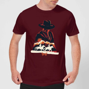 Westworld The Door Men's T-Shirt - Burgundy