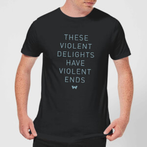 Westworld Violent Delights Men's T-Shirt - Black