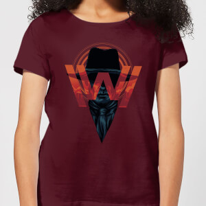 Westworld V.I.P Women's T-Shirt - Burgundy