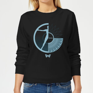 Westworld Hello, I'm Aeden Women's Sweatshirt - Black
