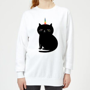 Andy Westface Caticorn Women's Sweatshirt - White