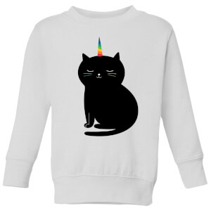 Andy Westface Caticorn Kids' Sweatshirt - White