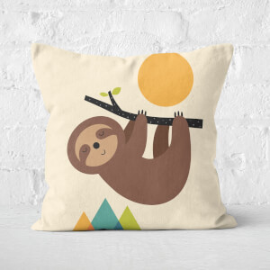Andy Westface Keep Calm And Live Slow Square Cushion