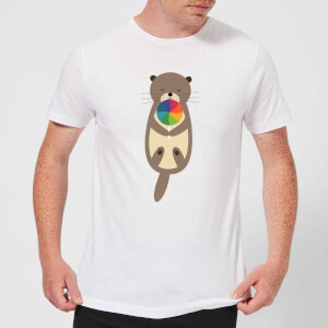 Andy Westface Sweet Otter Men's T-Shirt - White