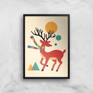 Andy Westface Reindeer Giclee Art Print
