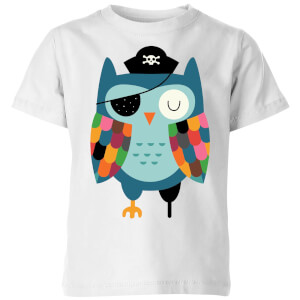 Andy Westface Captain Whooo Kids' T-Shirt - White