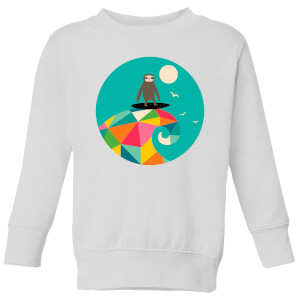 Andy Westface Surfs Up Kids' Sweatshirt - White