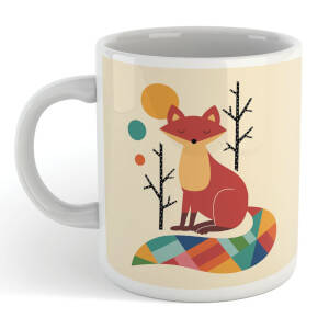 Andy Westface Rainbow Fox Mug