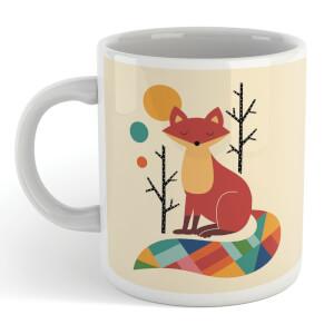 Andy Westface Rainbow Fox Mug