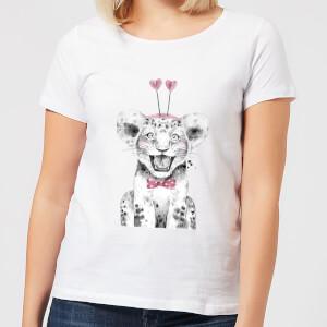 Hearty Cub Women's T-Shirt - White